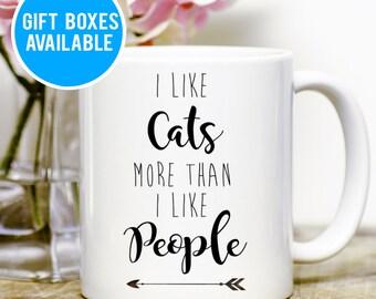 Cat Lover Mug, Cat Lover Gift, Cat Coffee Mug, Kitty Mug, Cat Owner Mug, Crazy Cat Lady Gift, Funny Cat Mug, Funny Saying, Cute Coffee Mug