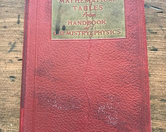 1941 Mathematical Tables from Handbook of Chemistry & Physics (A003)