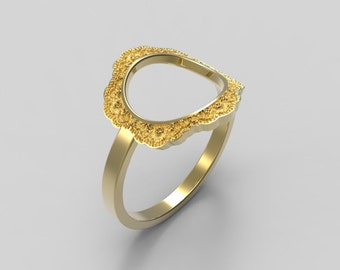 Gold Karma Ring, Open Circle Ring, Gold Circle Ring, Gold Open Circle Ring, Gold Circle Band, Gold Karma Band, Open Circle Band, Open Karma