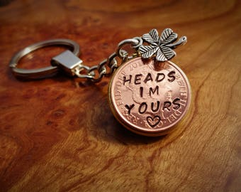 1st  Wedding Anniversary Gift 2016 lucky copper Penny personalised girlfriend  gift for her gift for him 100% satisfaction guaranteed