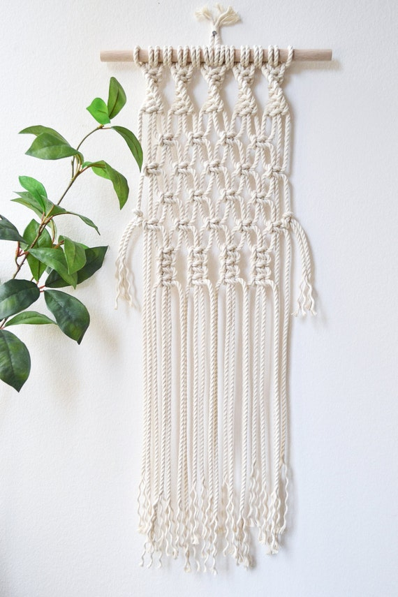 macrame wall hanging kit diy macrame wall hanging material kit with knot guide 4768
