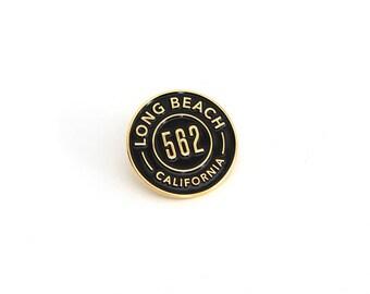 Long Beach Enamel Pin