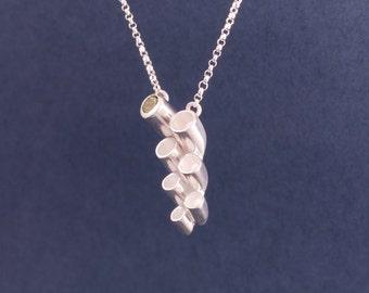 cactus flower necklace