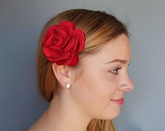 """4"""" Flower Hair Accessories, Flower Hair Pins, Bridal Hair Pins, Wedding Hair Pins,Gift for women"""