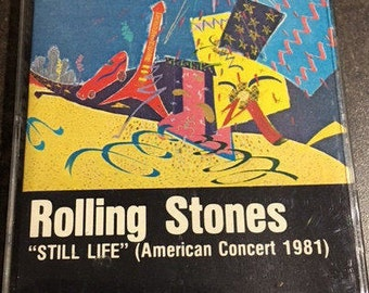 "Rollings Stones ""Still Life "" American Concert 1981 Cassette Tape"