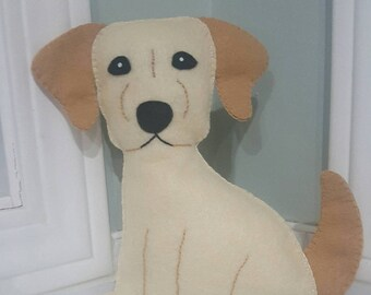 Golden retriever plushie, golden retriever stuffed animal.