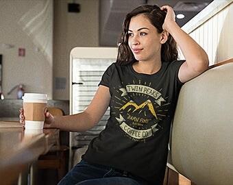 Damn Fine Coffee Co. Unisex/Womens Shirt - Twin Peaks Shirt / Twin Peaks T Shirt / Damn Fine Coffee / Agent Cooper Tshirt / David Lynch Gift