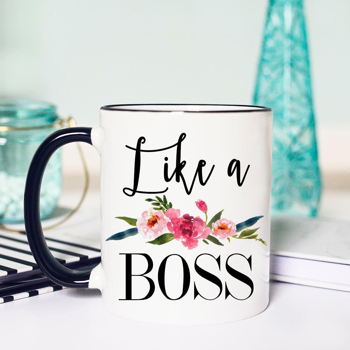 Like A Boss Mug Like A Boss Lady Boss Mug Boss Lady Boss