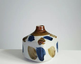 Japanese vintage weed pot vase, bud vase, mid century modern vase