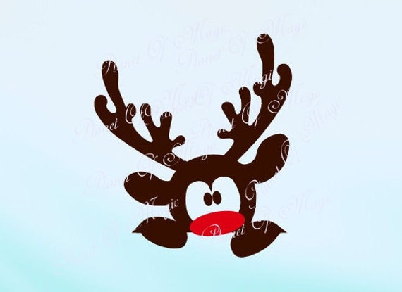 reindeer svg file rudolph svg deer svg christmas cutting