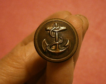 """Vintage Navy Military Insignia 6"""" Stick Hat Pin"""