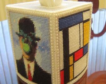 Modern Art Tissue Topper