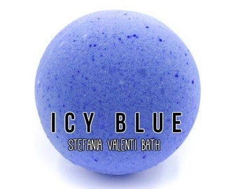 Icy Blue Bath Bomb - 5 oz (Free US Shipping!)