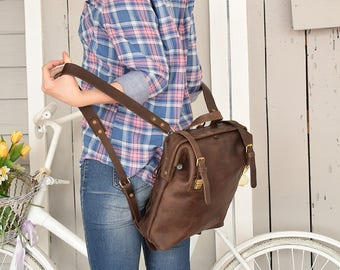 Leather rucksack, Leather backpack, Laptop backpack, Brown backpack, Leather backpack women, Mens leather backpack, Travel backpack