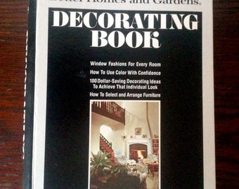 1975 Better Homes & Gardens Decorating Book Vintage Retro 3rd Ed Great Interior Design Reference
