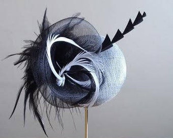 Hat Fascinator for Royal Ascot, Weddings,Races, and Special Events