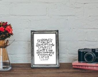 Printable - Dumbledore Quote Printable - Harry Potter and the Prisoner of Azkaban
