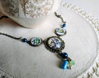Alice in Wonderland Tea Party Necklace