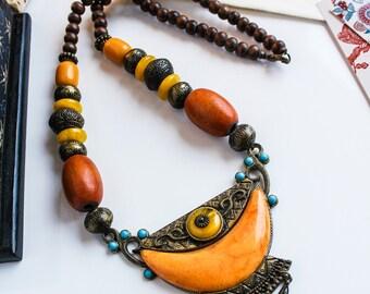 SAJAN NECKLACE | boho chic choker bollywood inspired pakistan indian jewellery