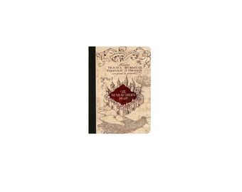 Harry Potter- The Marauder's Map Inspired  Faux Leather Folio/Book Case for IPad 2 IPad 3 Ipad 4 Ipad Air/Air 2 Ipad Pro 9.7(2016)