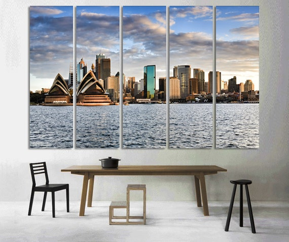 Sydney wall art sydney art sydney decor sydney canvas print Home decor wall decor australia