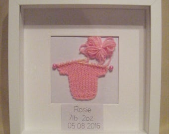 Baby, Name and Date of Birth, Frame/Picture