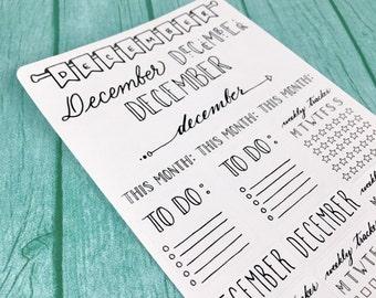 December Sampler Stickers