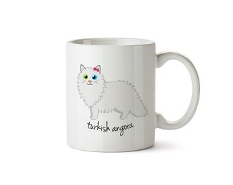 Turkish Angora Mug (girl)