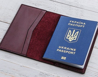 Passport Holder, Passport Case, Passport Cover, Womens Wallet, Leather Passport Cover, Travel Wallet, Passport Pouch, Documents Holder