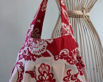 Cherry and White, Birdie Sling Bag