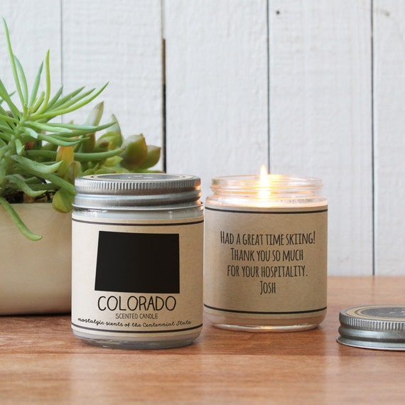 colorado scented candle homesick gift feeling homesick