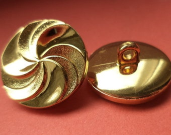 9 buttons gold 21mm (5072) button jacket buttons
