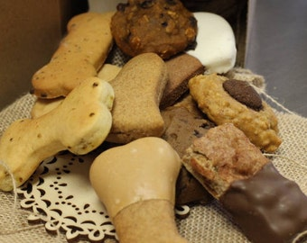 A Doggy Dozen, Assorted All Natural Dog Cookies