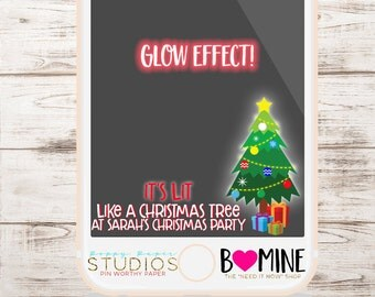 CHRISTMAS Snapchat Geofilter, It's Lit Filter, GET LIT ,Holiday Party Snapchat Filter, Holiday Party, Christmas Party, Snapchat Filter