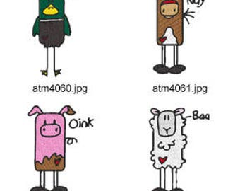 Box-Farm-Animals ( 7 Machine Embroidery Designs from ATW ) XYZ17D