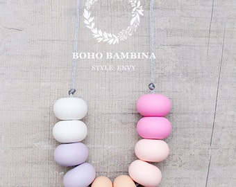Fairy Floss - Silicone Necklace