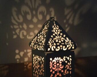 off white vintage moroccan lantern wedding lanterns rustic lantern lanterns wedding centerpiece