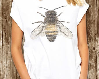 BEES T-Shirt - Honey Bee - Vintage Honey Bee T shirt Gift - xs, small, medium, large, xl, 2xl