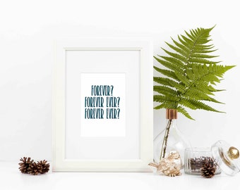 Forever OutKast Quote Printable *Instant Download*