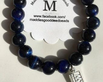 Blue Tiger Eye Million Women Mentor Bracelet