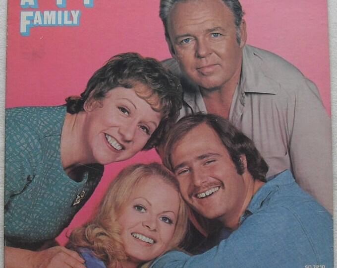 Vintage All In the Family Archie Bunker Album lp Atlantic Records 1971