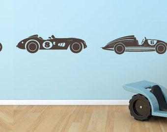 Vinyl sticker wall sticker childrens • auto •