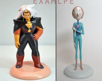 Steven Universe figure | Statuette | Figurine | Garnet | Amethyst | Pearl | Steven | Peridot | Jasper