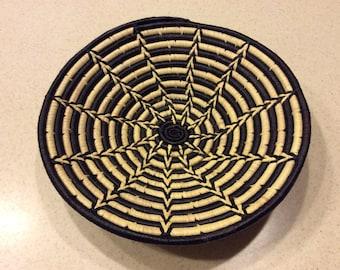 Black Spokes Basket