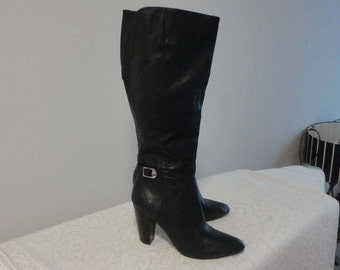 Mark Fisher Fine Leather Boots Size 10 M