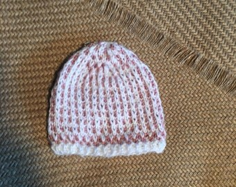 Sweet hat for newborn, quality hand knit