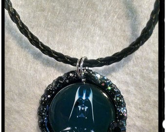 Star Wars inspired Darth Vader necklace