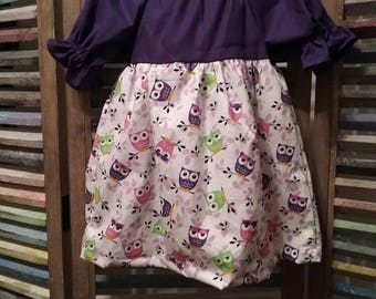 Girls dress, Girls peasant dress, Little girls dress, Girls spring or summer dress, Boho girl dress, Toddler dress,  #196, #197