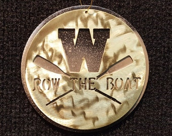 Western Michigan Broncos Row The Boat Ornament