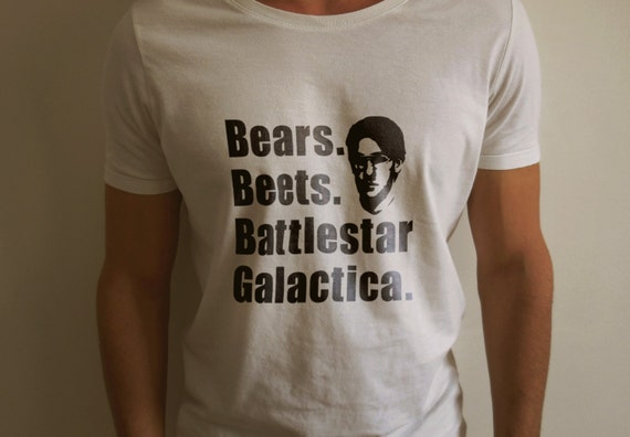 "The Office ""Bears, Beets, Battlestar Galactica"" Shirt S-4XL and Long Sleeve Available"